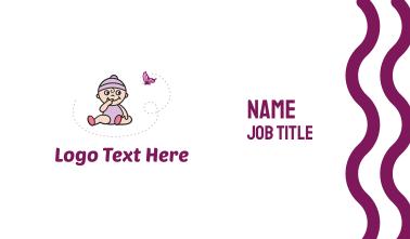Purple Baby Business Card