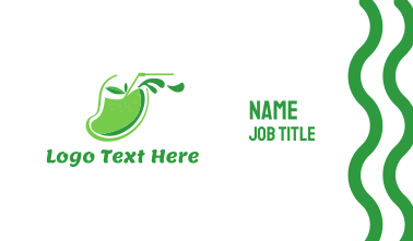 Mango Juice Business Card