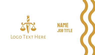 Dagger Law Business Card