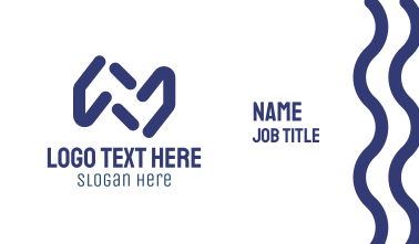 Blue Lines Business Card