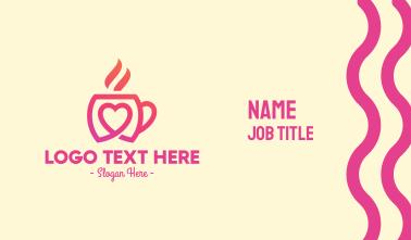 Coffee Date Business Card