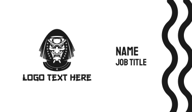 Evil Ninja Business Card