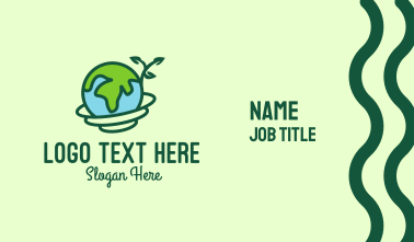 Global Nature Conservation Business Card