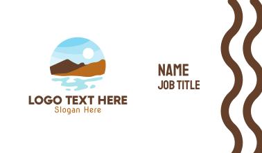 Mountain Lake River Business Card