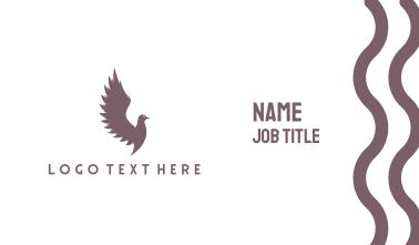 Wild Pigeon Business Card