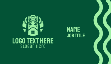 Tree House Property Business Card