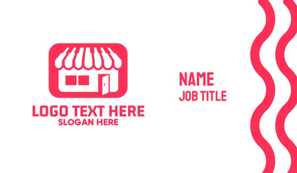 keyboard - Piano Music Store Business card horizontal design