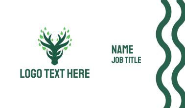 Green Deer Business Card