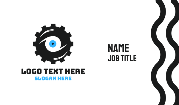 tire - Cog Vision Business card horizontal design