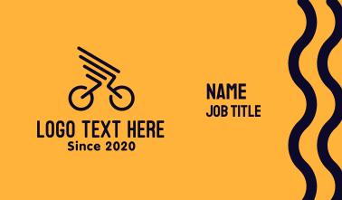 Bike Wings Business Card