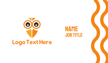 Owl Eyes Business Card