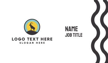 Goat Circle Business Card