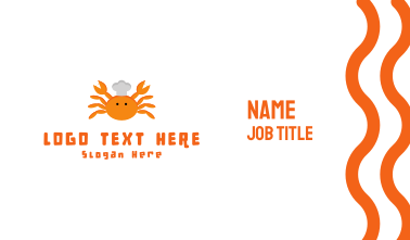 Crab Chef Business Card