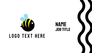 Round Bee Business Card