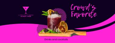 Ladies Night Cocktails Facebook cover