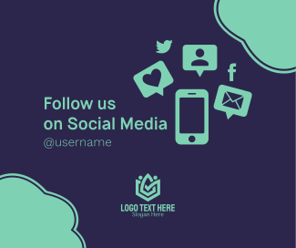 Follow Us on Social Media  Facebook post