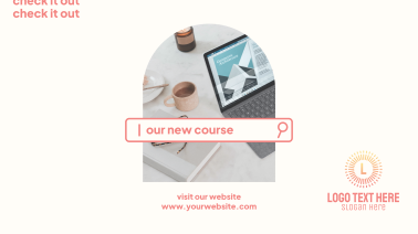New Course Facebook Event Cover