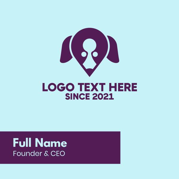 Dog Locator Business Card