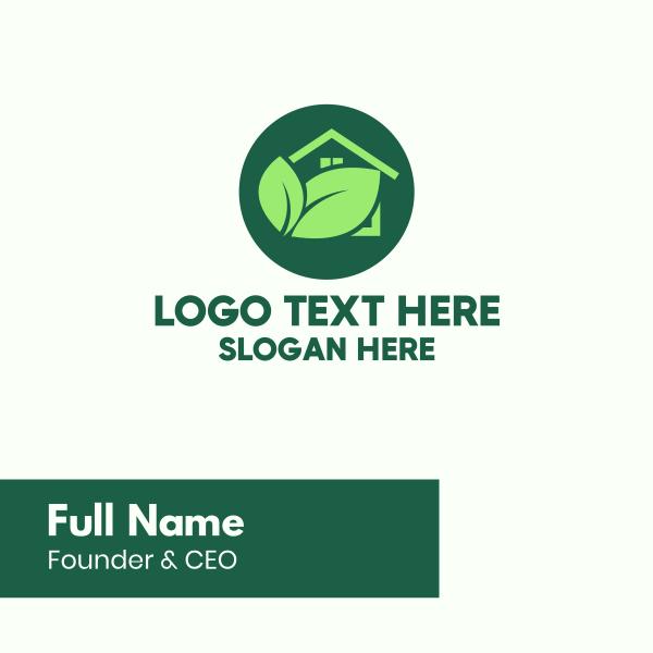 Green House Garden Business Card
