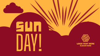 Sunday Sun Day Facebook event cover