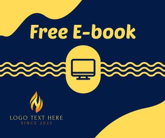 Free WFH E-book  Facebook post
