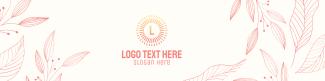 Leaves Wreath LinkedIn banner
