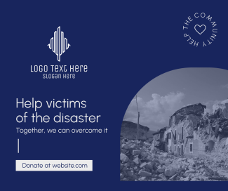 Help Disaster Victims Facebook post
