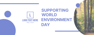 Supporting World Environment Day Facebook cover