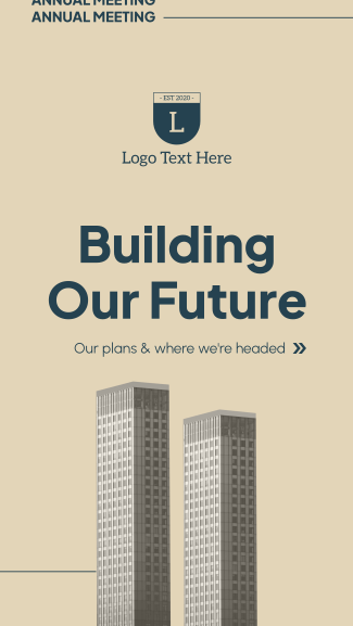 Building Our Future Facebook story