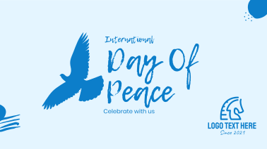 Flying Peace Dove Facebook event cover