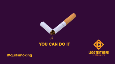 You Can Quit Smoking Facebook Event Cover