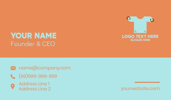 pricing - Price Tag Shirt Business card horizontal design