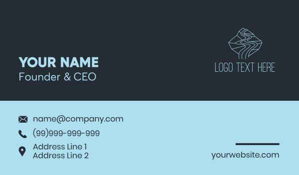Blue River Rapids Business Card