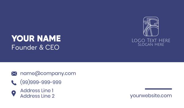 leisure - Bicycle Thumbnail Business card horizontal design