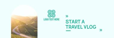 Travel Vlog Twitter header (cover)
