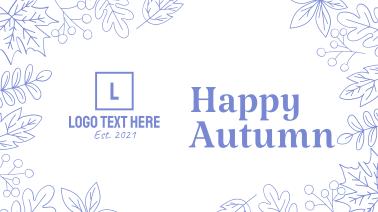 Autumn Season Facebook event cover