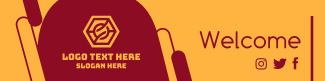 Modern Corporate LinkedIn banner