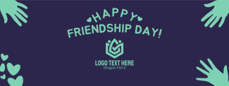 Happy Friendship Day Facebook cover