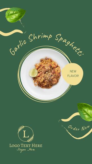 Pasta New Flavor Facebook story