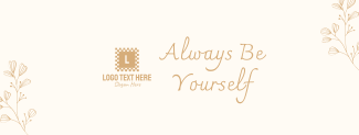 Always Be Yourself Facebook cover