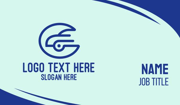 abstract design - Professional Car Symbol Business card horizontal design