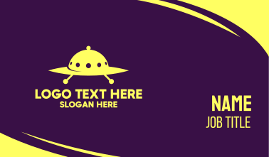 Cloche Spaceship Business Card