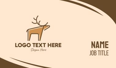 Wild Deer Business Card