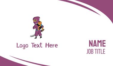 Ninja & Kid Business Card