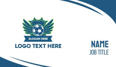 Soccer FC Club Business Card