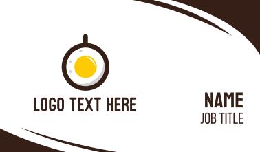 Coffee & Egg Business Card