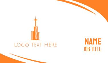 Orange Tower Business Card