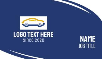 Automotive Car Exchange Business Card