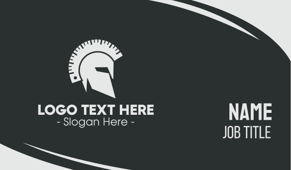 athenian - Spartan Calibration Business card horizontal design