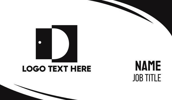 production - Open Door D Business card horizontal design